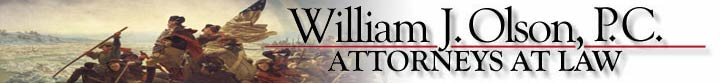 William J. Olson, P.C., Attorneys at Law